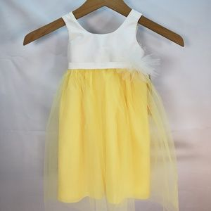 Us Angels Flower Girl Special Occasion Dress 18 M